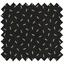 Tissu enduit  paille dorée noir - PPMC