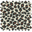 Coated fabric leopard print - PPMC
