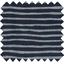 Tissu enduit rayé argent marine - PPMC