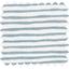 Tela plastificada brillo azul gris a rayas - PPMC