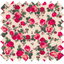 Coated fabric rose blush - PPMC