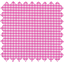 Coated fabric fuschia gingham - PPMC