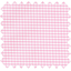 Coated fabric pink gingham