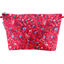 Cosmetic bag with flap cherry cornflower - PPMC