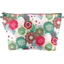 Cosmetic bag with flap powdered  dahlia - PPMC