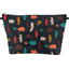 Cosmetic bag with flap grizzly - PPMC