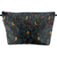 Cosmetic bag with flap jungle party - PPMC