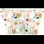 Bolsa de baño con lengüeta conejo verde agua - PPMC
