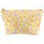 Trousse de toilette mimosa jaune rose - PPMC