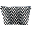 Cosmetic bag with flap black-headed gulls