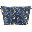 Cosmetic bag with flap orque bleue - PPMC