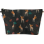 Cosmetic bag with flap palma girafe - PPMC