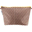 Cosmetic bag with flap palmette - PPMC