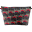 Cosmetic bag with flap royal poppy - PPMC