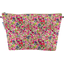 Cosmetic bag with flap purple meadow - PPMC