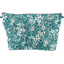 Cosmetic bag with flap celadon violette - PPMC
