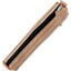 Mini pencil case bronze copper stripe  - PPMC