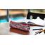 Round pencil case poppy