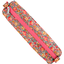 Round pencil case peach flower - PPMC