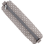 Round pencil case light grey spots