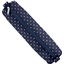 Round pencil case navy blue spots - PPMC