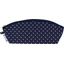 Pencil case navy blue spots - PPMC