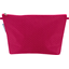 Cosmetic bag with flap fuchsia gold star - PPMC