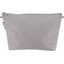Cosmetic bag with flap etoile or gris - PPMC