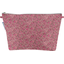 Cosmetic bag with flap plum lichen - PPMC