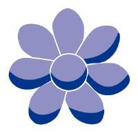 Pasador flor margarita