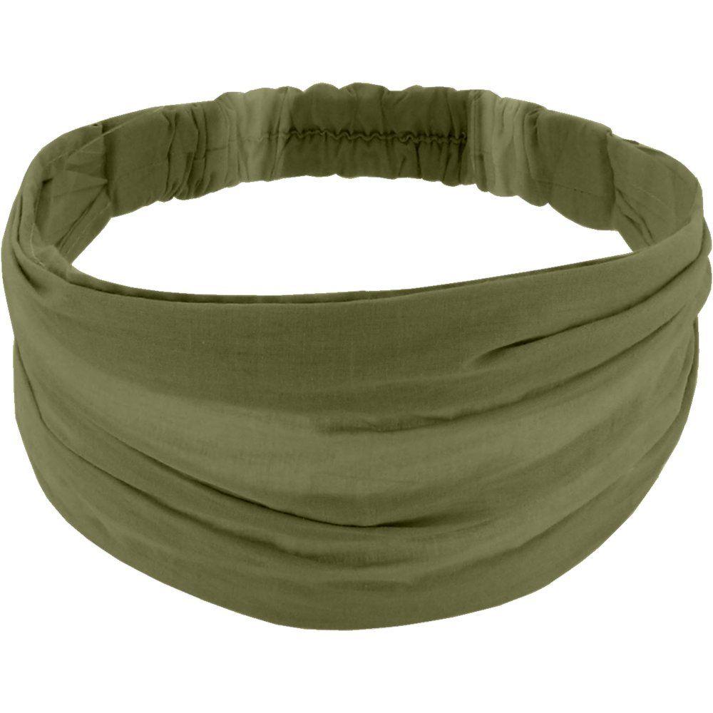 Headscarf headband- Adult size khaki