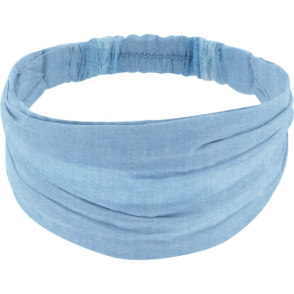 Headscarf headband- Adult size oxford blue