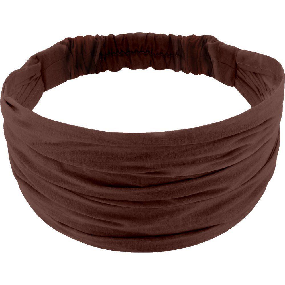 Headscarf headband- child size brown