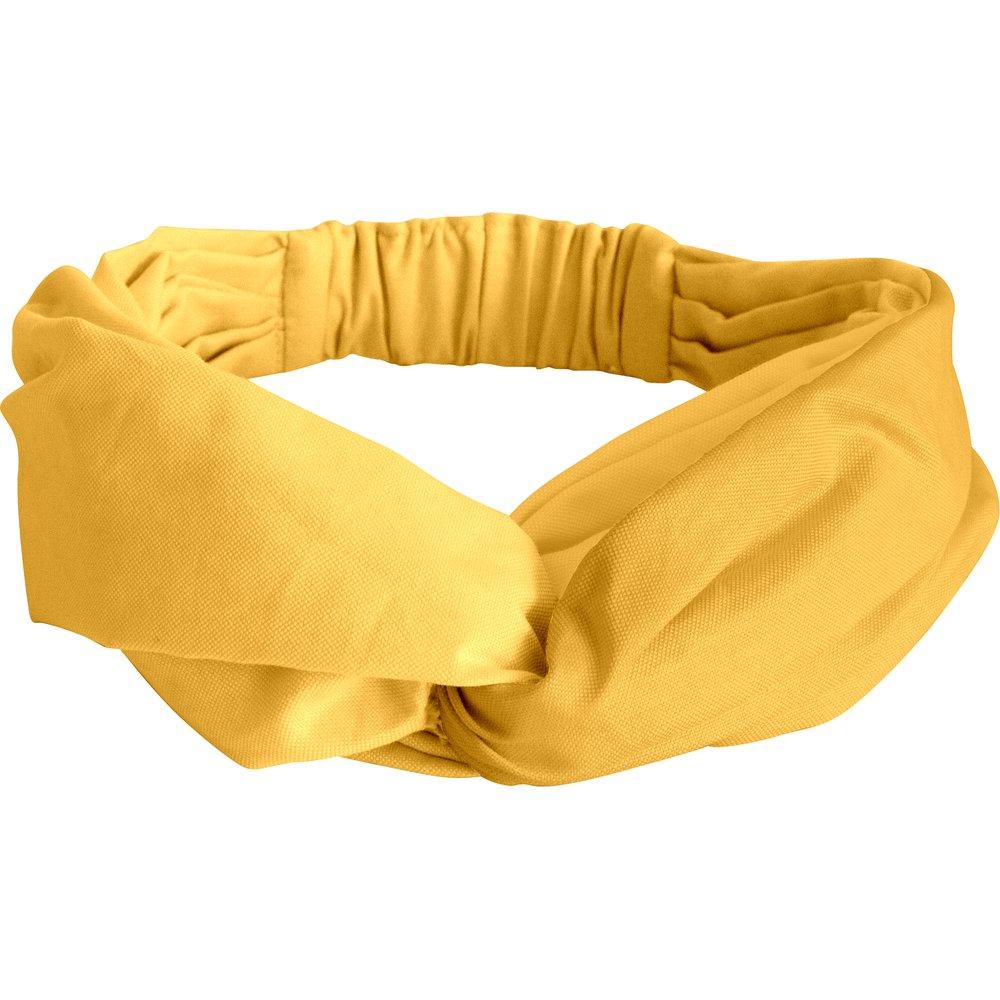 Bandeau croisé jaune ocre