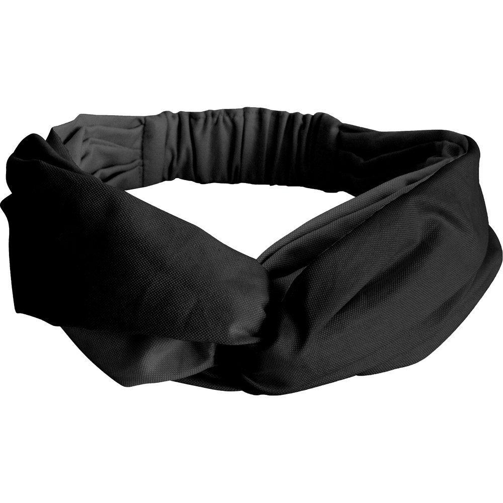 Bandeau croisé noir