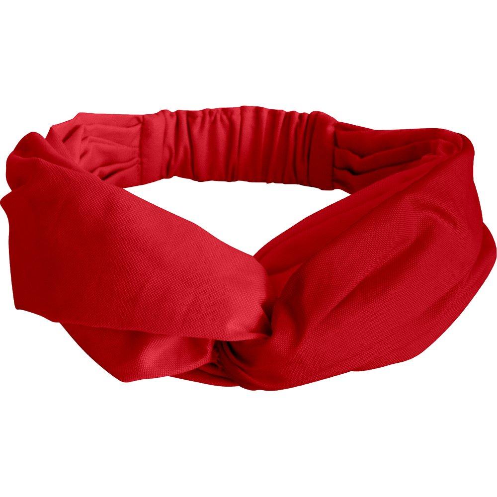 Bandeau croisé rouge