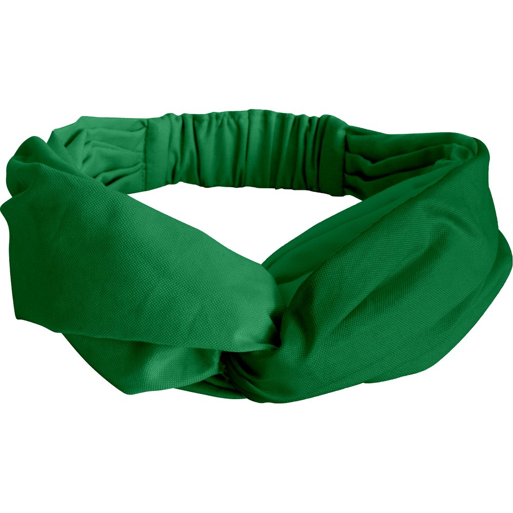Bandeau croisé vert vif