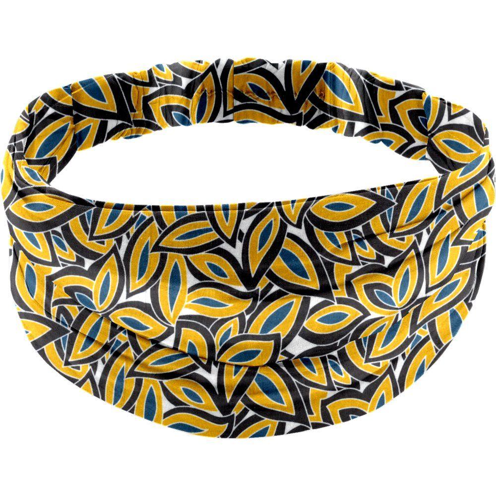 Headscarf headband- Adult size 1000 leaves