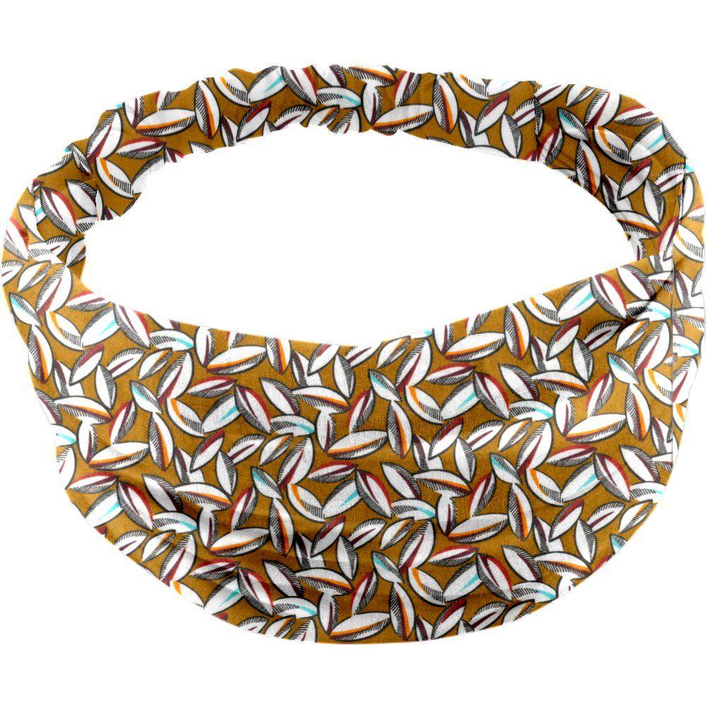 Headscarf headband- Baby size cocoa pods