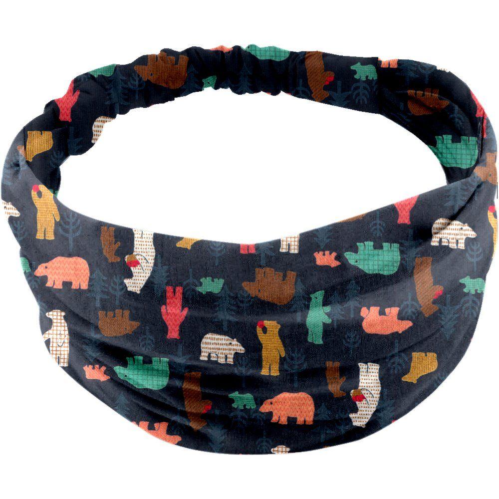 Headscarf headband- Baby size grizzly