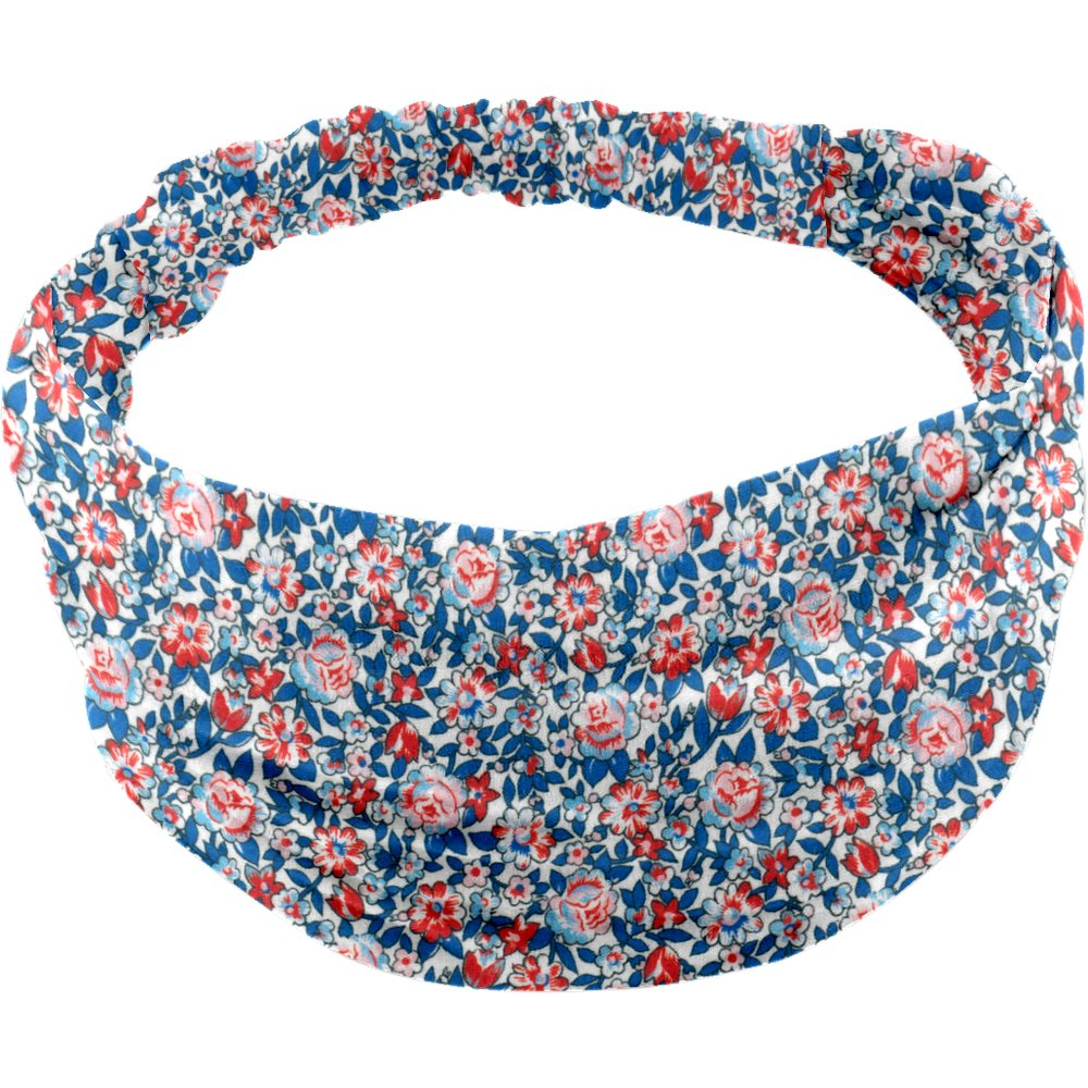 Headscarf headband- Baby size flowered london