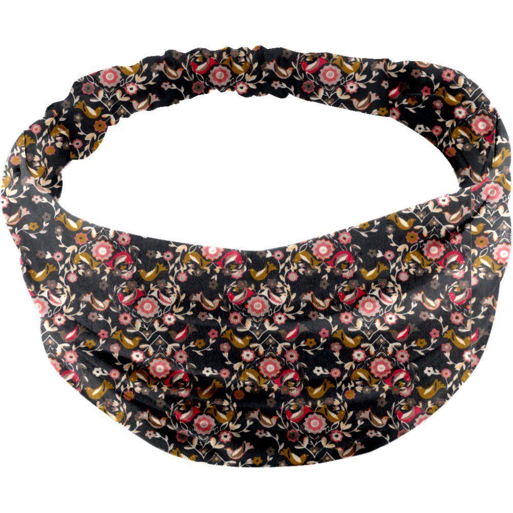 Headscarf headband- Baby size ochre bird