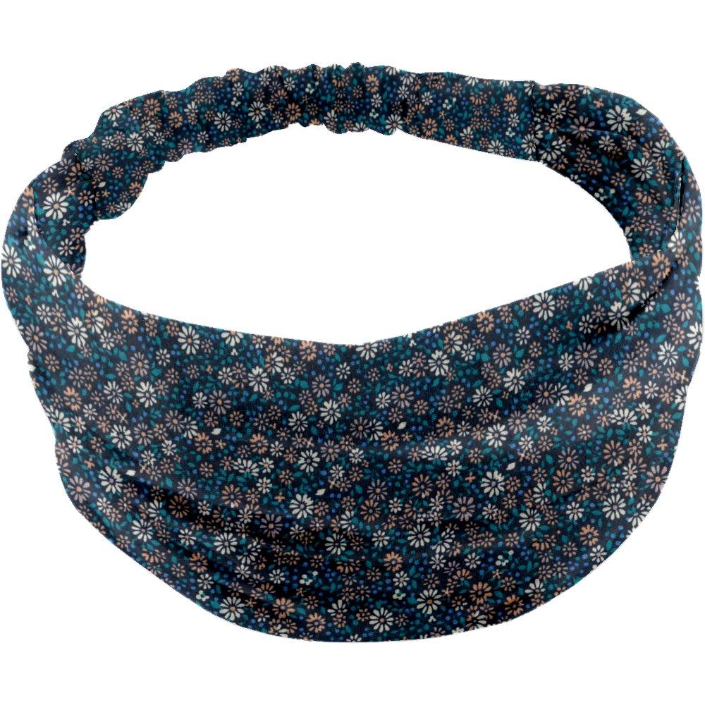 Headscarf headband- Baby size paquerette marine