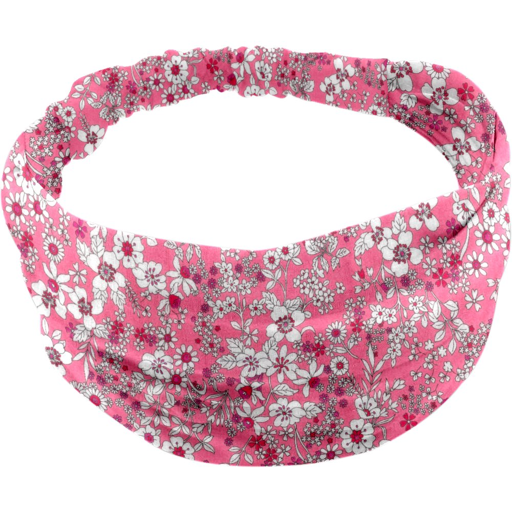 Headscarf headband- Baby size pink violette