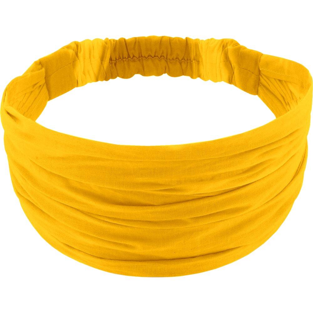 Headscarf headband- child size yellow ochre