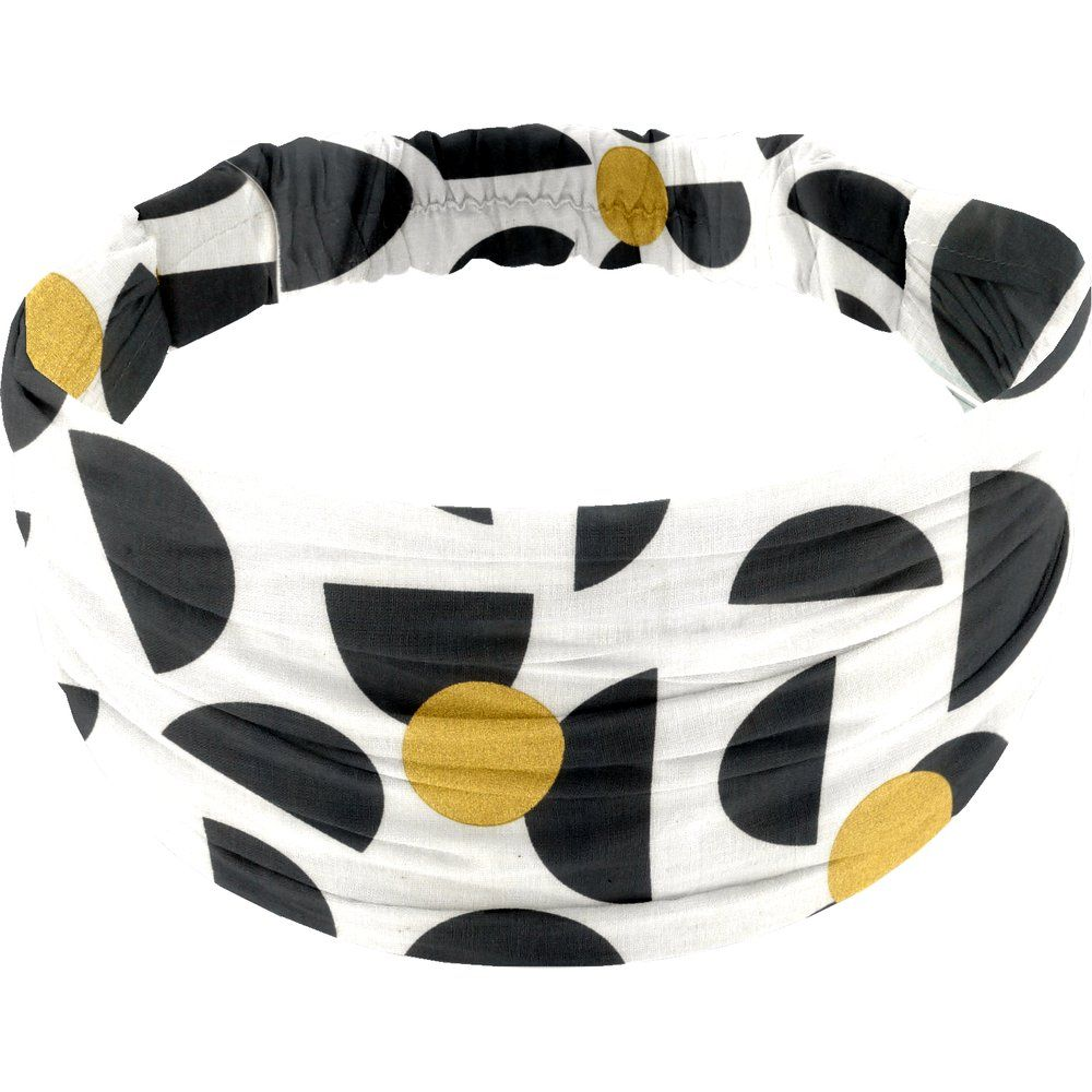 Headscarf headband- child size golden moon