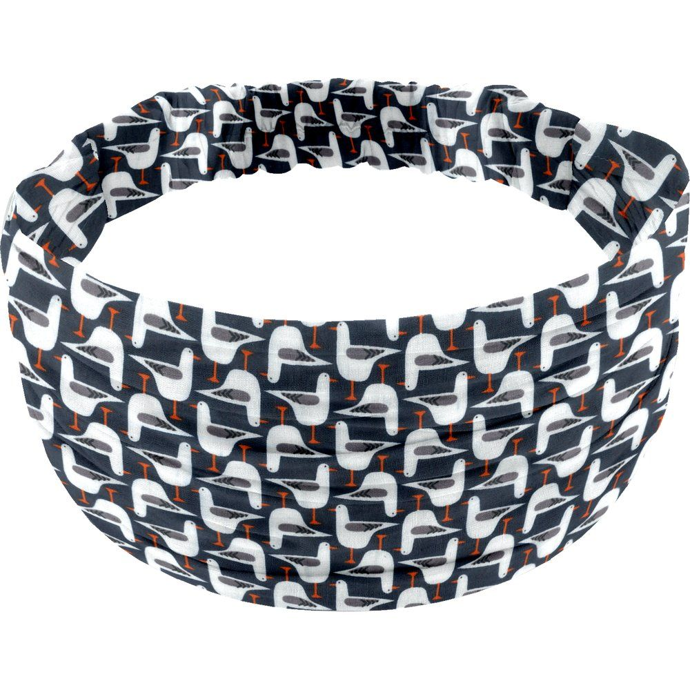 Headscarf headband- child size black-headed gulls