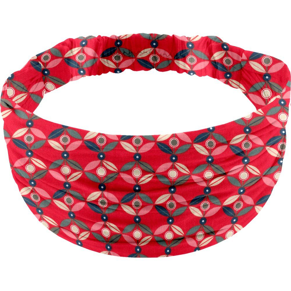Headscarf headband- child size paprika petal
