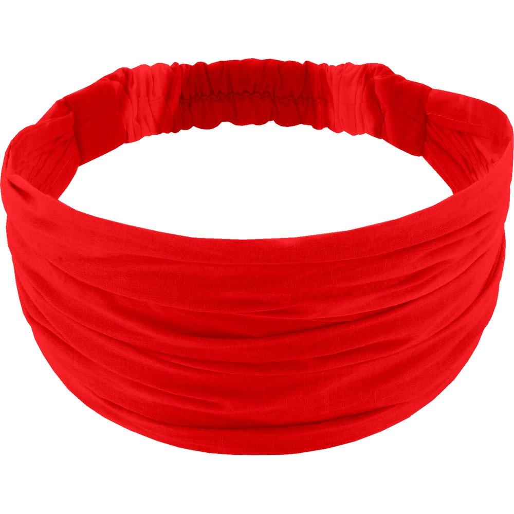 Headscarf headband- child size tangerine red