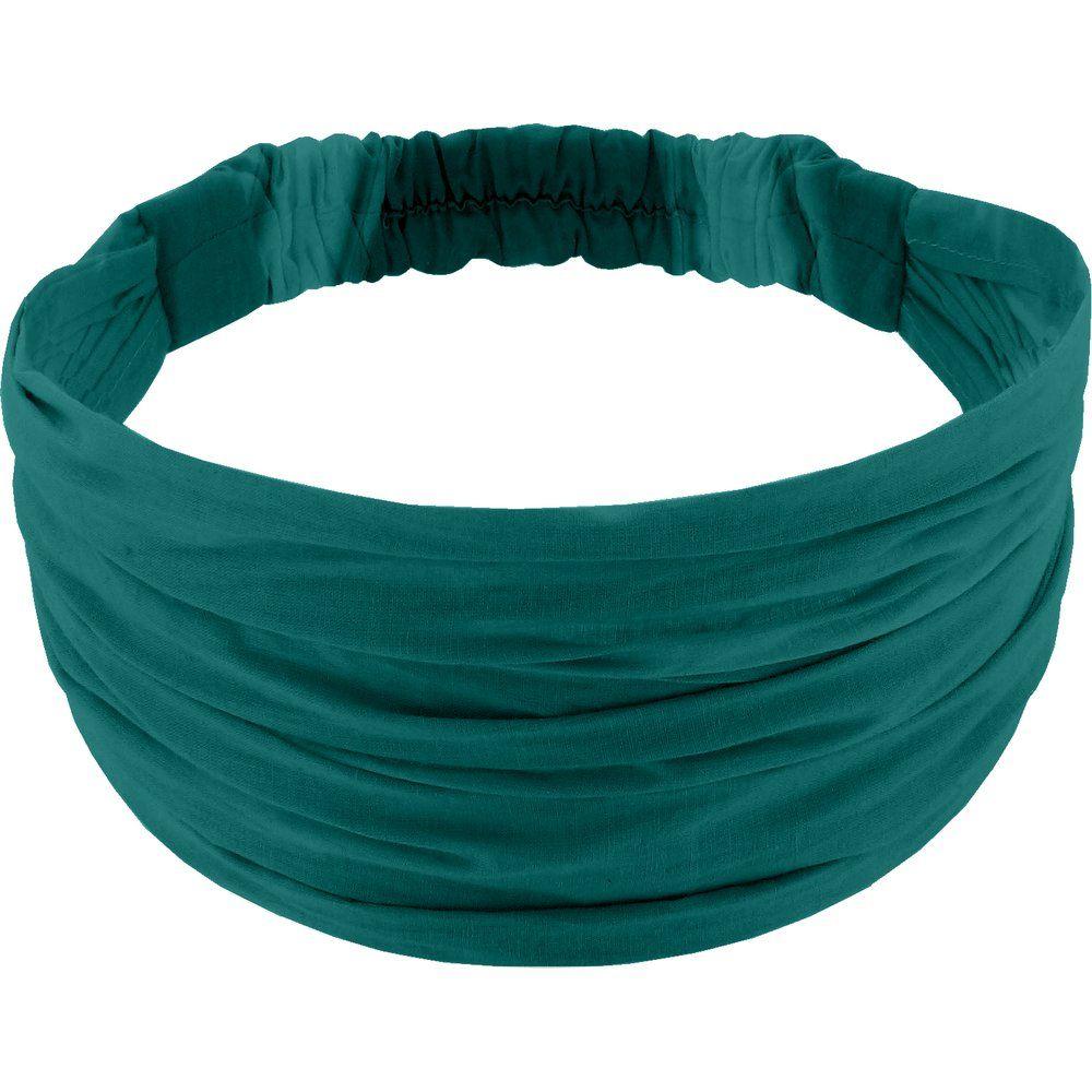 Turbantes para niña verde esmeralda